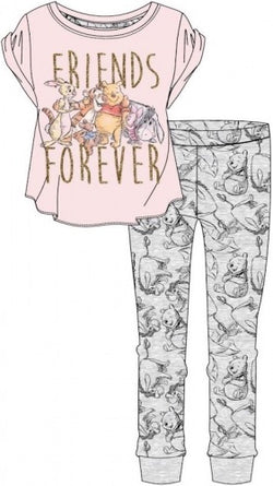 PRE ORDER Winnie the Pooh Ladies Winter Pant Pyjama Pj UK SIZING