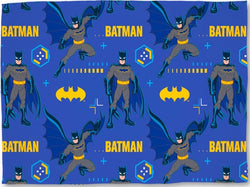 BATMAN Tech Throw Size Fleece Blanket (SUPER SOFT)