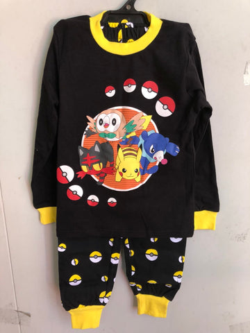 Winter pjs - Pokemon