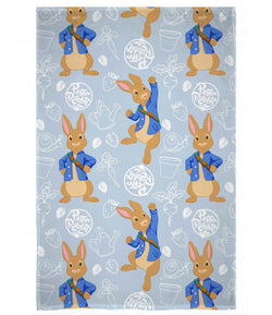 Peter Rabbit Throw Size Fleece Blanket