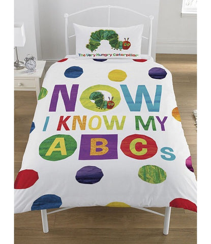 The very hungry Caterpillar Single Quilt Cover Set