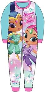 Shimmer and Shine Fleece Onesie 4/5 left