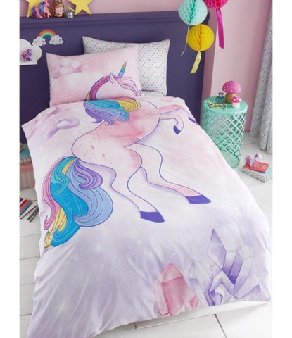 Unicorn Single Quilt Cover Set