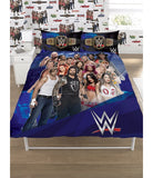PRE ORDER WWE reversible double quilt cover set