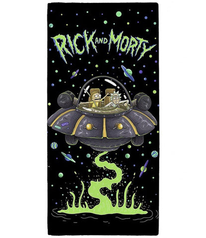 PRE ORDER Rick and Morty Licensed Towel