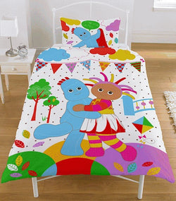 In The Night Garden Single Quilt Cover Set