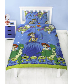 TOY STORY POLYESTER Single Quilt Cover Set