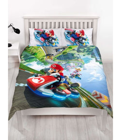 Mario Double to queen Quilt Cover Set
