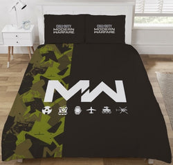 Call of duty Double to Queen Quilt Cover Set