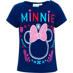 Minnie Mouse Licensed Baby Girl T-Shirt Tee Top BLUE
