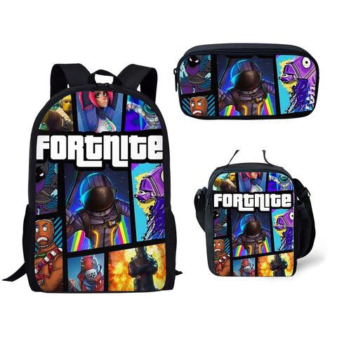 PRE ORDER NOV FORTNITE 3 piece backpack set