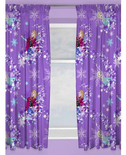 PRE ORDER FROZEN Curtains 72 inch drop