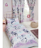Unicorn Purple Single Quilt Cover Set