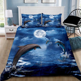 Dolphin Quilt Cover Set
