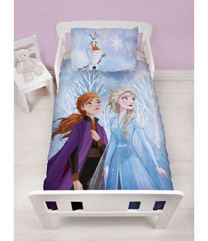 Frozen Toddler Bed/Cot Quilt Cover Set