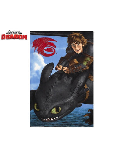 How To Train Your Dragon Throw Size Fleece Blanket