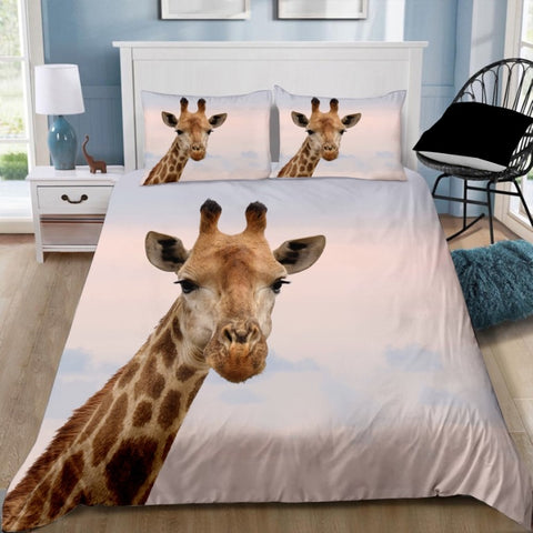Giraffe Quilt Cover Set
