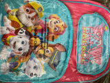 Large Backpack Paw Patrol Pink