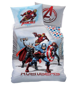 Marvel Avengers Single Quilt Cover Set