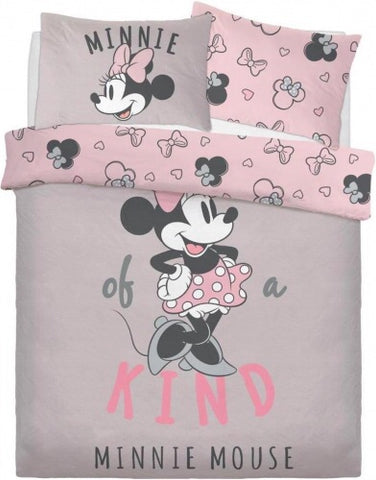 Minnie Mouse Double to Queen Quilt Cover Set POLYESTER