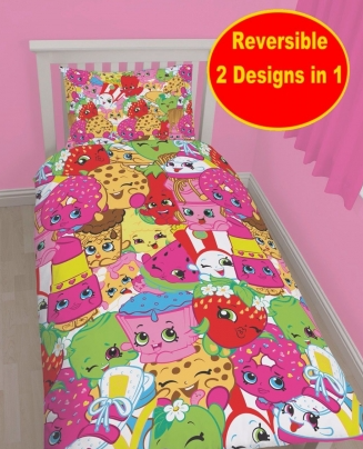 Shopkins Single Quilt Cover Set