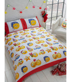 PRE ORDER Emoji Christmas Single Quilt Cover Set
