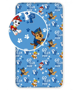 PAW PATROL Single fitted sheet ONLY