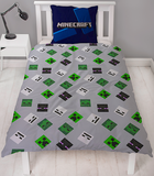 Minecraft Single Quilt Cover Set