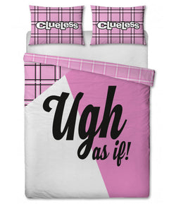 Clueless Double to Queen Quilt Cover Set