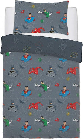 Justice League Single Quilt Cover Set