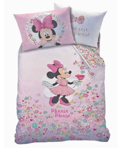 Minnie Mouse Single Quilt Cover Set