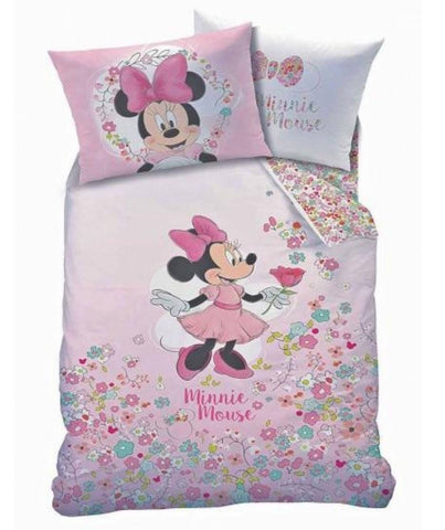 PRE ORDER Minnie Mouse Single Quilt Cover Set