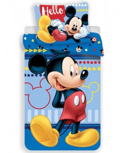 Mickey Cotton Single quilt cover set EU Case