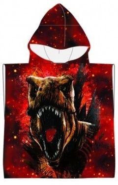 Jurassic World Dinosaur Licensed Hooded Towel