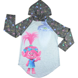 Long hooded top shirt -  Trolls
