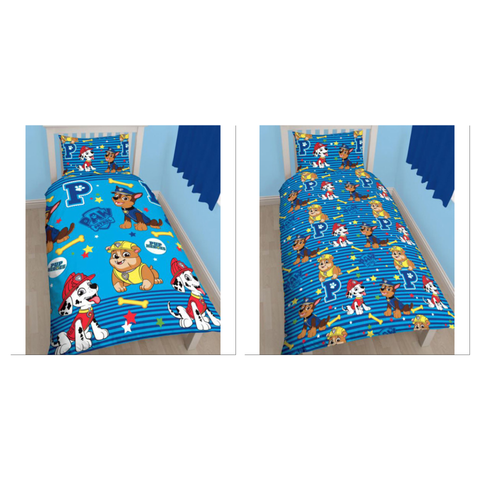 Paw Patrol Single Quilt Cover Set