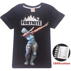 Fortnite tshirt - tee only - Black floss2