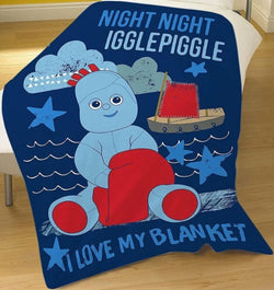 In The Night Garden Throw Size Fleece Blanket