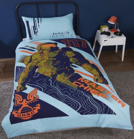 Halo Infinite 117 Licensed Single Quilt Cover Set