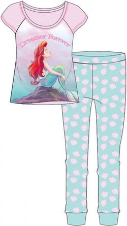Little Mermaid Ladies Winter Pant Pyjama Pj UK SIZING 12/14 left