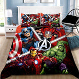 Marvel Avenger Quilt Cover Set