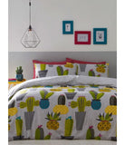 Cacti Garden SINGLE Quilt Cover Set