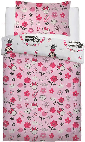 Minnie Mouse Single Quilt Cover Se