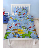 TOY STORY ROAR POLYESTER Single Quilt Cover Set