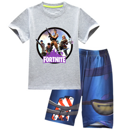 Fortnite outfit / pjs - Grey top