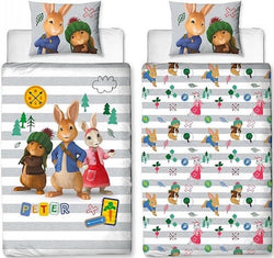 Peter Rabbit Licensed Single Quilt Cover Set