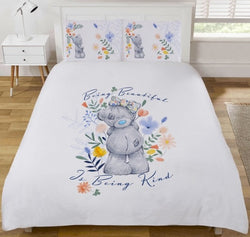Me To You Tatty Teddy Reversible Double To Queen Quilt Cover Set