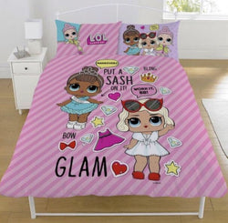 PRE ORDER JUNE LOL Surprise Doll Double to Queen Quilt Cover Set