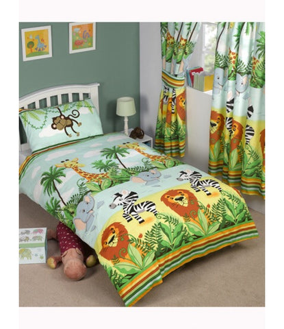 Animal monkey jungle Single Quilt Cover Set