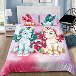 PRE ORDER Unicorn Twin Quilt Cover Set